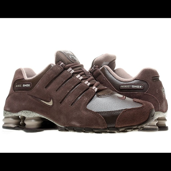 c497d44a927 Nike Shox NZ EU Brown - size 10.5 US